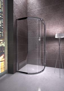 Box doccia in cristallo satinato Bressani Viotia 300-CR-SA-8080