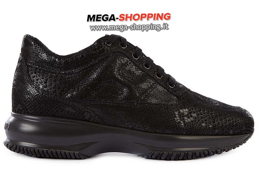 Hogan scarpe sneakers donna in pelle nuove interactive HXW00N000101O6999