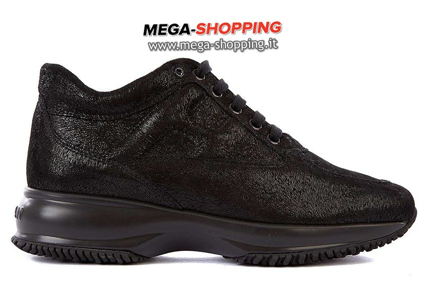 Hogan scarpe sneakers donna in pelle nuove interactive HXW00N00010PN7B999