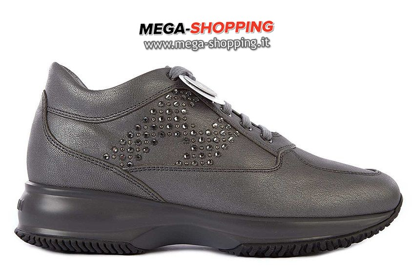 Hogan scarpe sneakers donna in pelle nuove interactive HXW00N0E4301QIB800