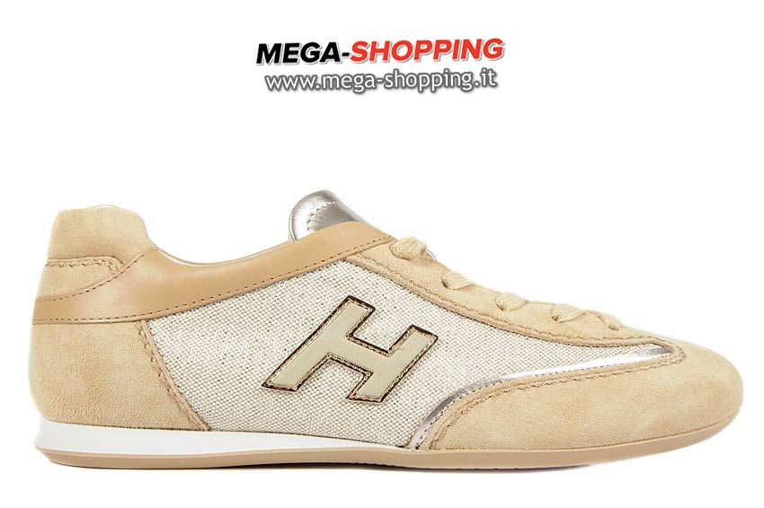 Hogan scarpe sneakers donna camoscio nuove olympia HXW052016870EE345H