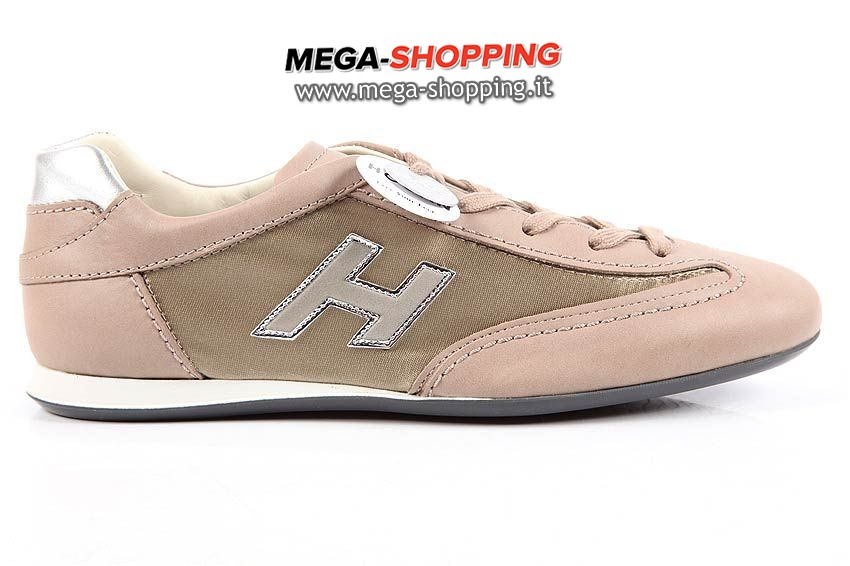 Hogan scarpe sneakers donna in pelle nuove olympia HXW05201687E34770D