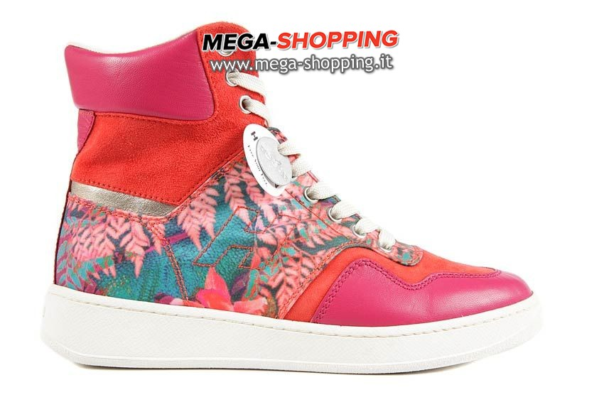 Hogan scarpe sneakers alte donna in pelle nuove H 194 restyling  HXW1940G9000T80LB5 0ec381b9ced