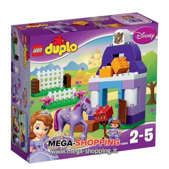 la scuderia reale di sofia the first Lego Duplo 10594