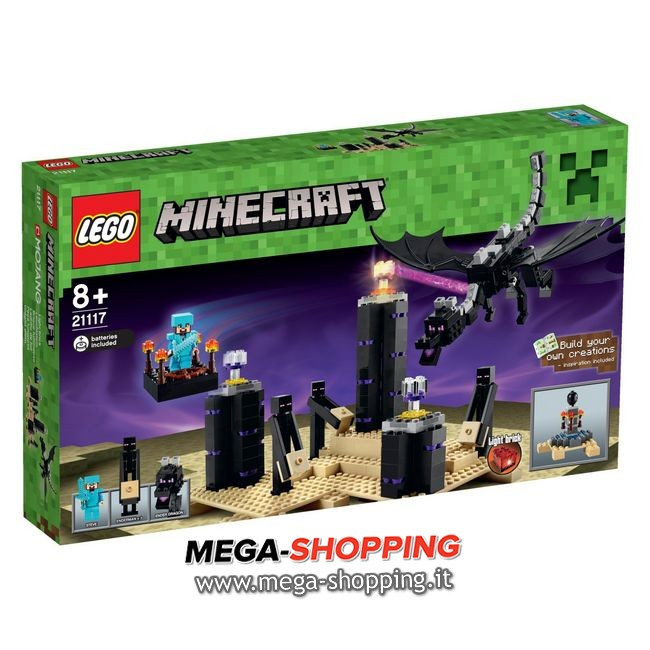 the ender dragon Lego Minecraft 21117