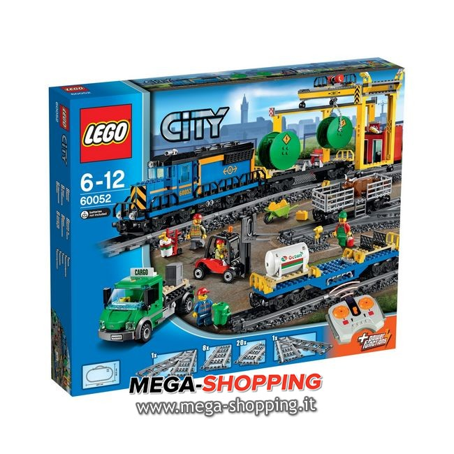 treno merci Lego City 60052