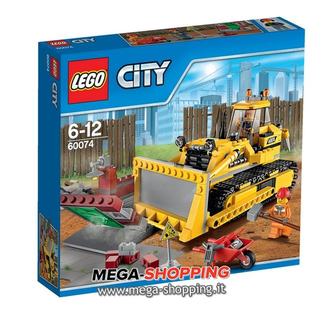 bulldozer Lego City 60074