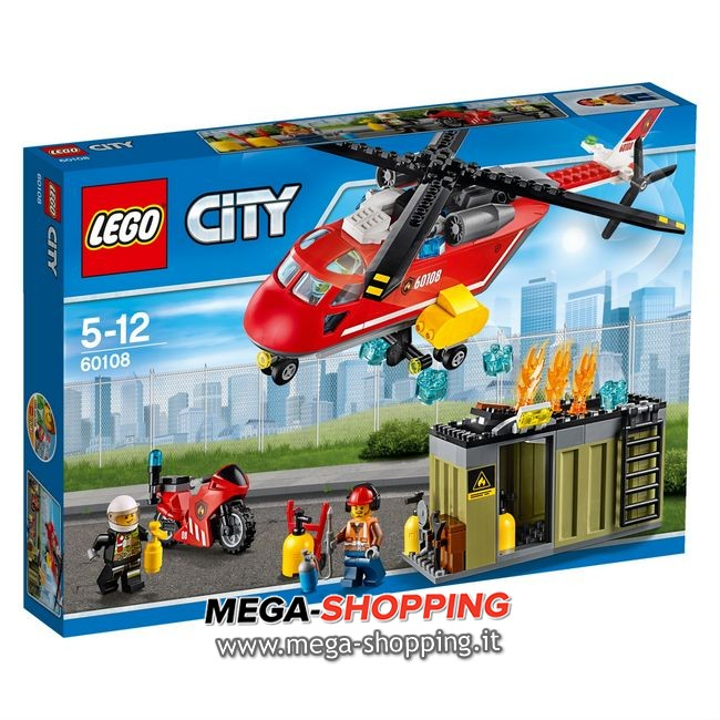 Unità di risposta antincendio lego city 60108
