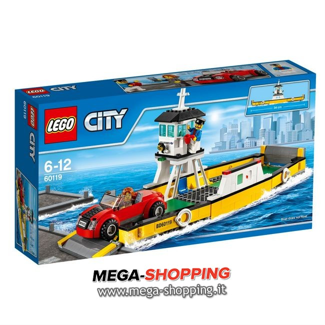 traghetto Lego City 60119