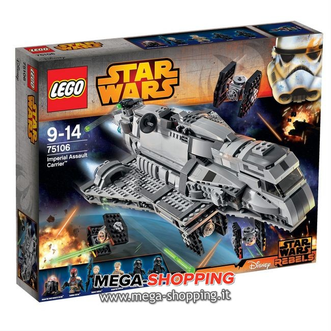 imperial assault carrier Lego Star Wars 75106
