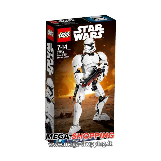 first order stormtrooper Lego Star Wars 75114