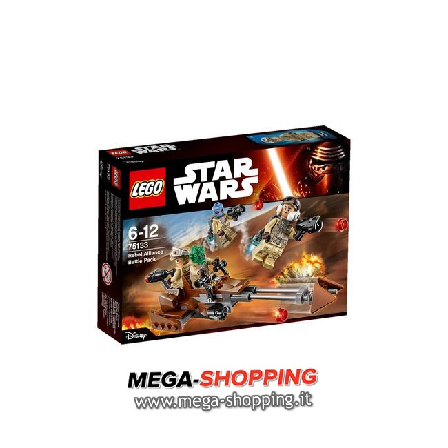 battle pack ribelli Lego Star Wars 75133