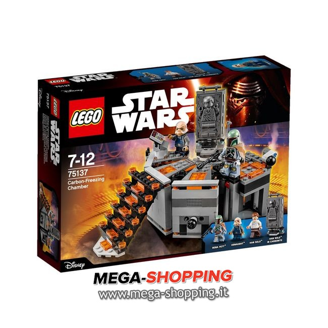 camera di congelamento al carbonio Lego Star Wars 75137