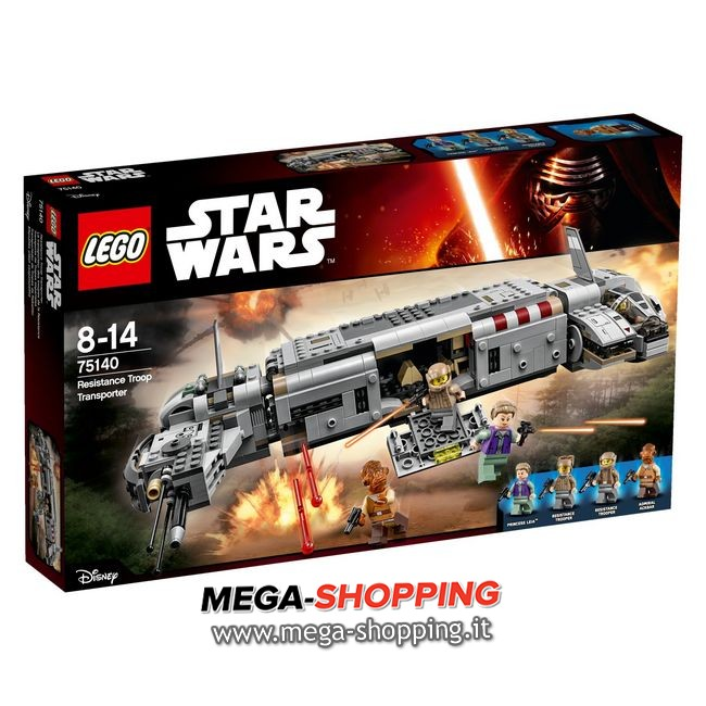resistance troop transport Lego Star Wars 75140
