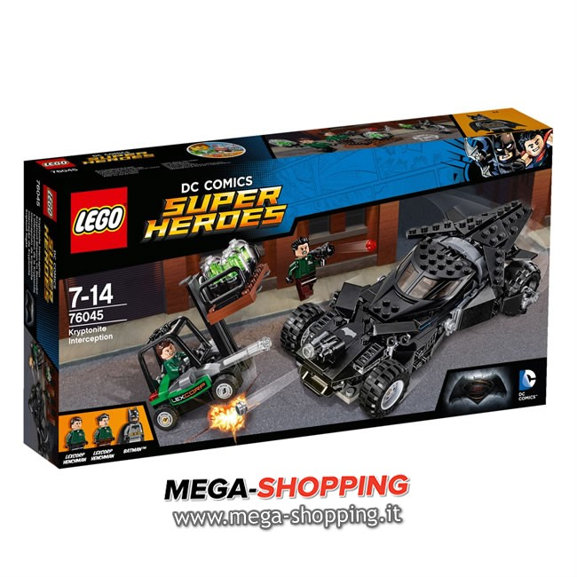 l'intercettamento della kryptonite Lego Super Heroes 76045