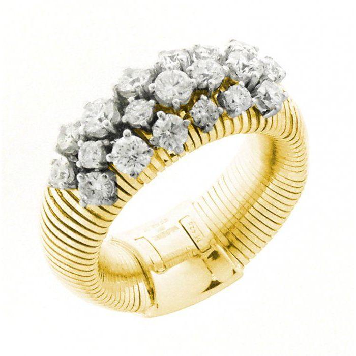 Anello oro bicolore Chimento Stardust 1A02086BB2140