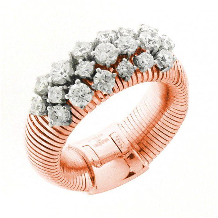 Anello oro rosa Chimento Stardust 1A02086BB7140