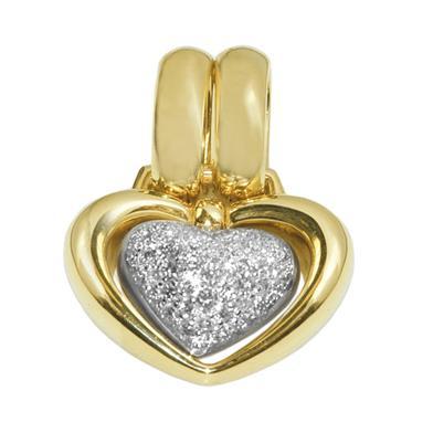 Pendente a forma di cuore in oro Chimento Cuori 1M01638B22000