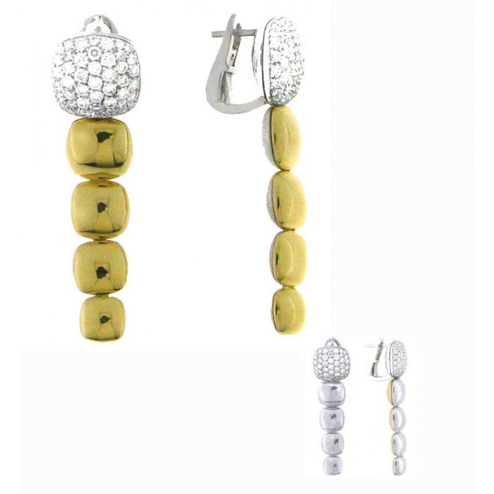 Orecchini diamanti Chimento Double Join 1O04722B3200P