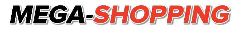 logo mega shopping footer