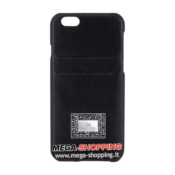 Custodia smartphone con bordi protettivi Versatile, iPhone® 6 Plus / 6s Plus, Nero