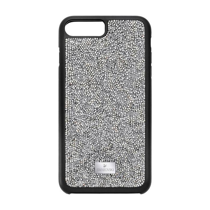 Custodia smartphone con bordi protettivi Glam Rock, iPhone® 8 Plus, Grigio