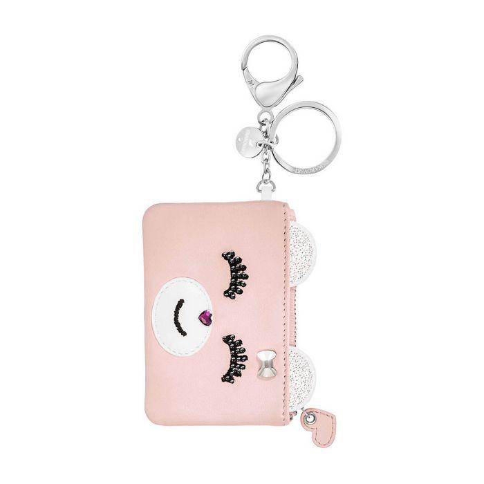 Accessorio per borse Kris Card, rosa, acciaio inossidabile